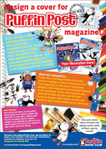 COMPETITION: Design a cover for Puffin Post magazine!