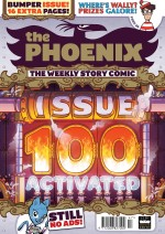 Hurrah for the Phoenix Comic's 100th issue!