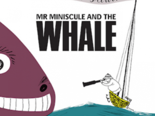 A picturebook a week: Mr Miniscule and the Whale