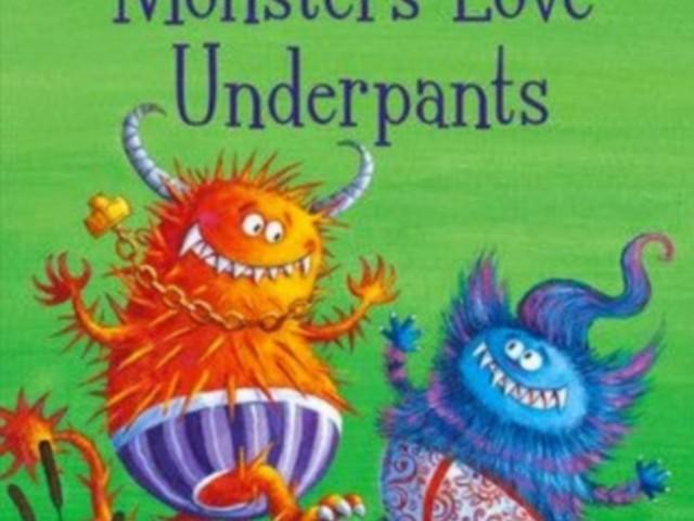 BLOG TOUR:  Claire Freedman talks monsters' underpants!