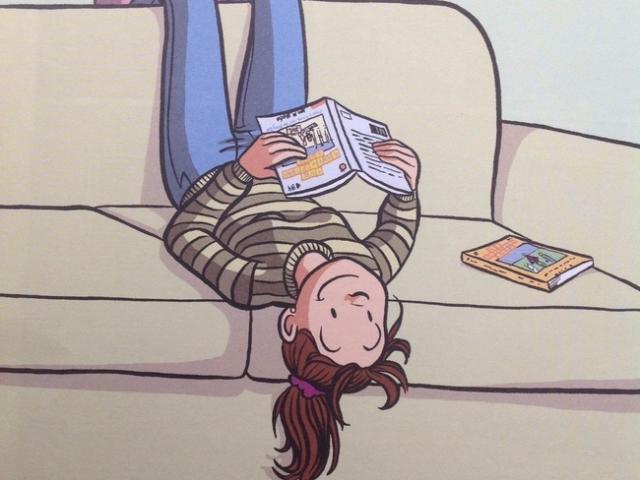 Encouraging girls to take on comic reading