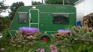 Ella Burfoot caravan