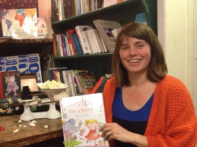 GUEST POST: Ella Burfoot on the inspiration behind Recipe for a Story