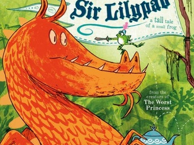 Sir Lilypad & a guest post by Princess Sue!