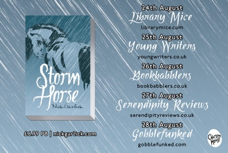 Storm Horse blog tour banner