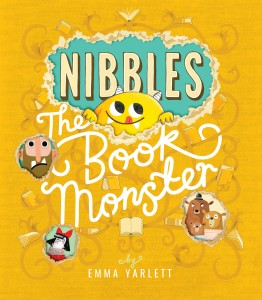 Metafiction crazy with Emma Yarlett and Nibbles the Book Monster
