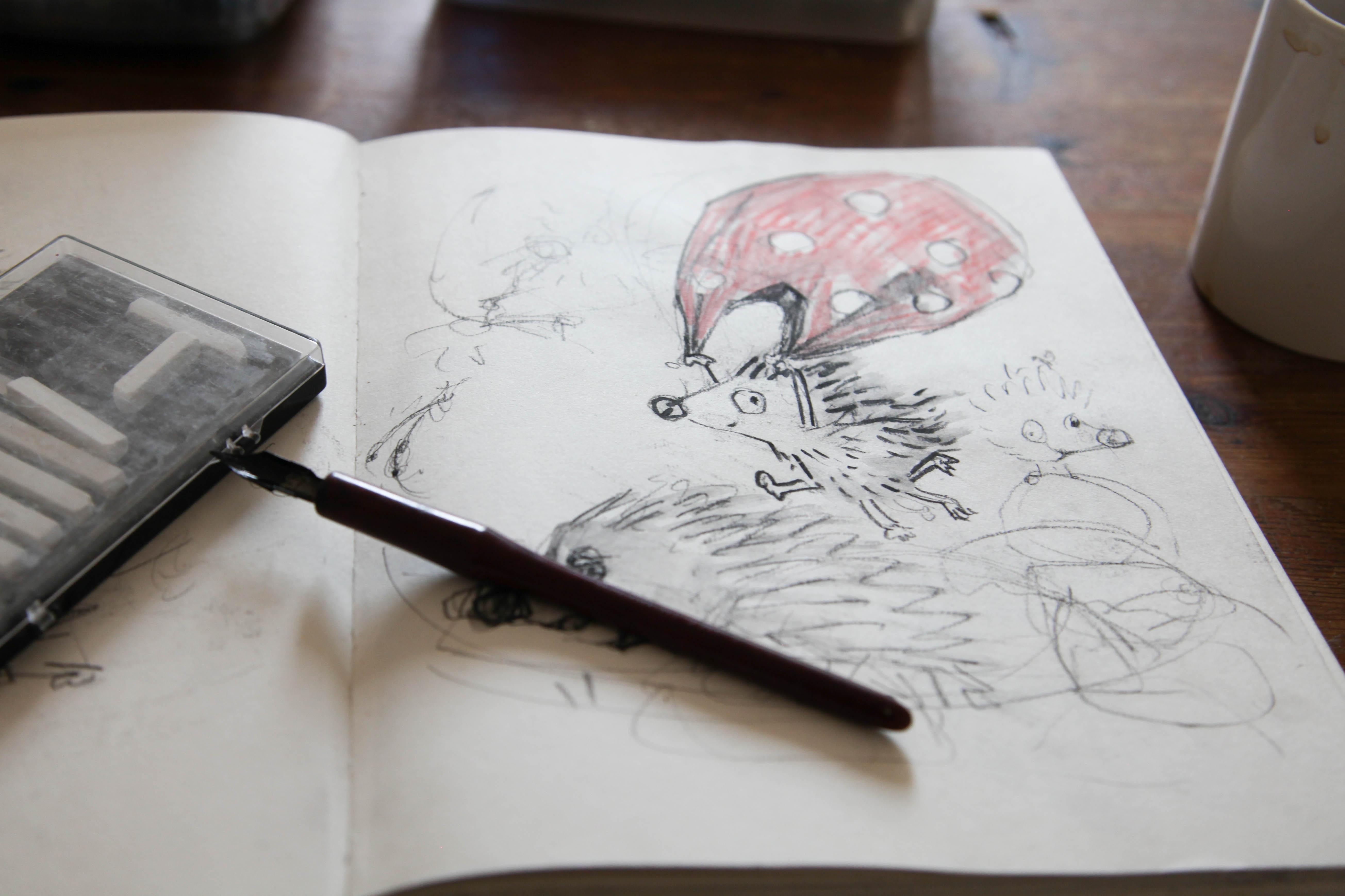 isaac sketchbook