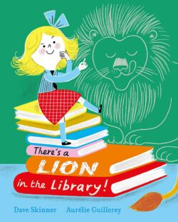 There's a LION in the Library