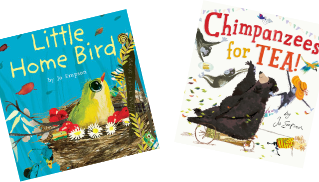 "FABULOUS FIVE: Jo Empson presents ""five picturebooks that inspired me"""